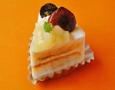 秋色ショートケーキ