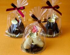 型抜きチョコレート リトルシューズ