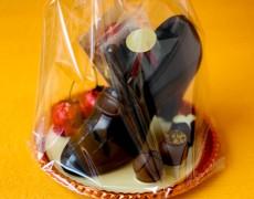 型抜きチョコレート ハイヒール