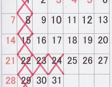 5月定休日と閉店時間変更のお知らせ