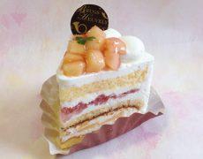 【限定!】桃のショートケーキ