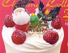 2017年クリスマスケーキのご案内