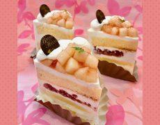 【季節限定】桃のショートケーキ